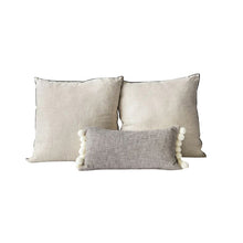 Load image into Gallery viewer, Pom-Pom Pillow Set of 3