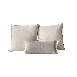 Pom-Pom Pillow Set of 3