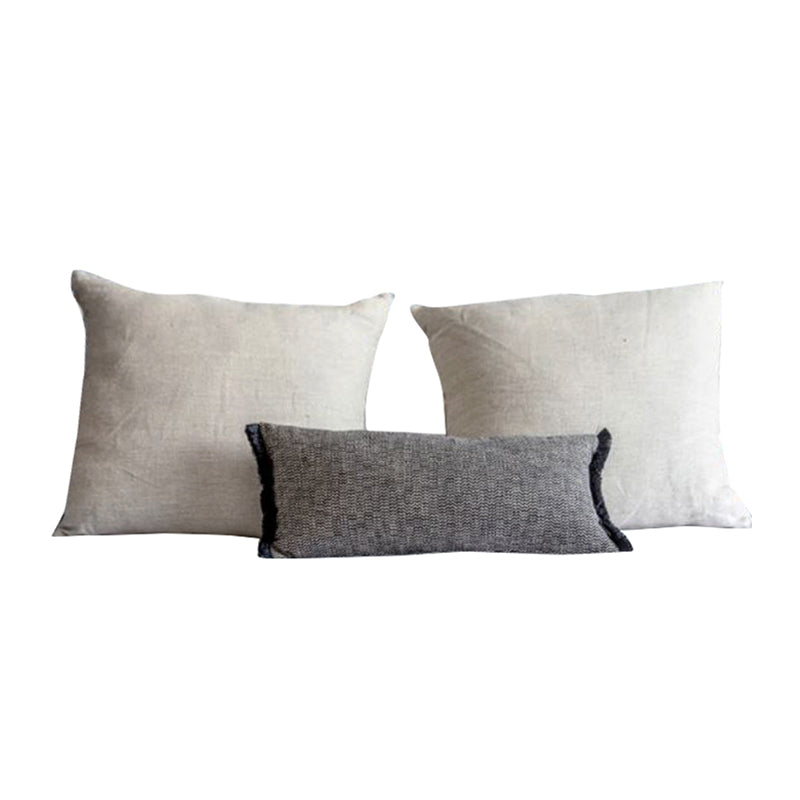 Classic Scandinavian Pillow Set of 3