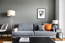 "Load image into Gallery viewer, Lux Anthracite 79"" Sofa"