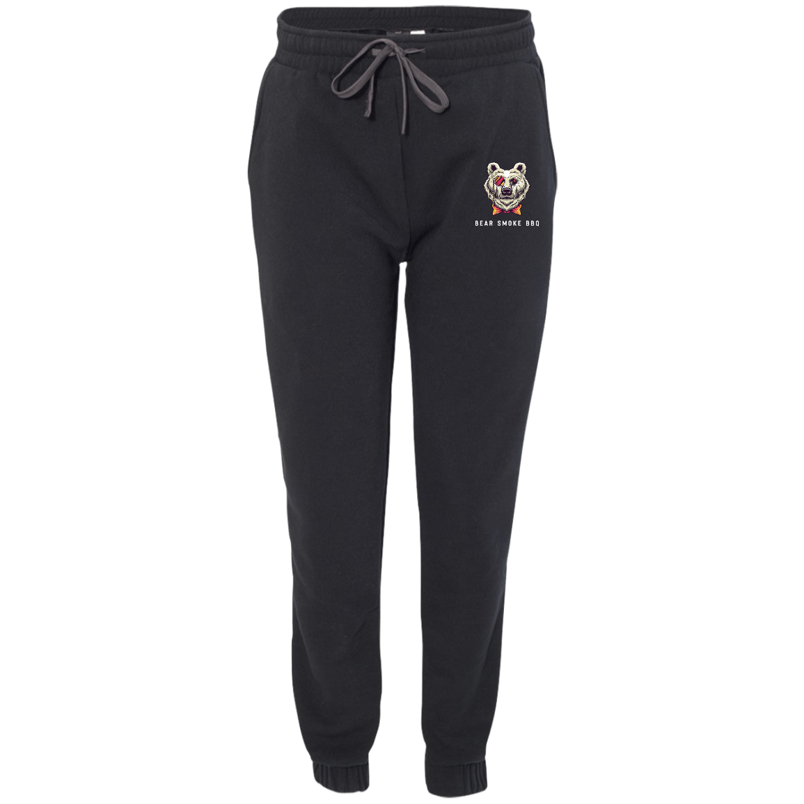 Bear Smoke Adult Fleece Joggers - Bear Smoke BBQ