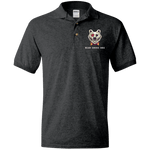 G880 Jersey Polo Shirt - Bear Smoke BBQ