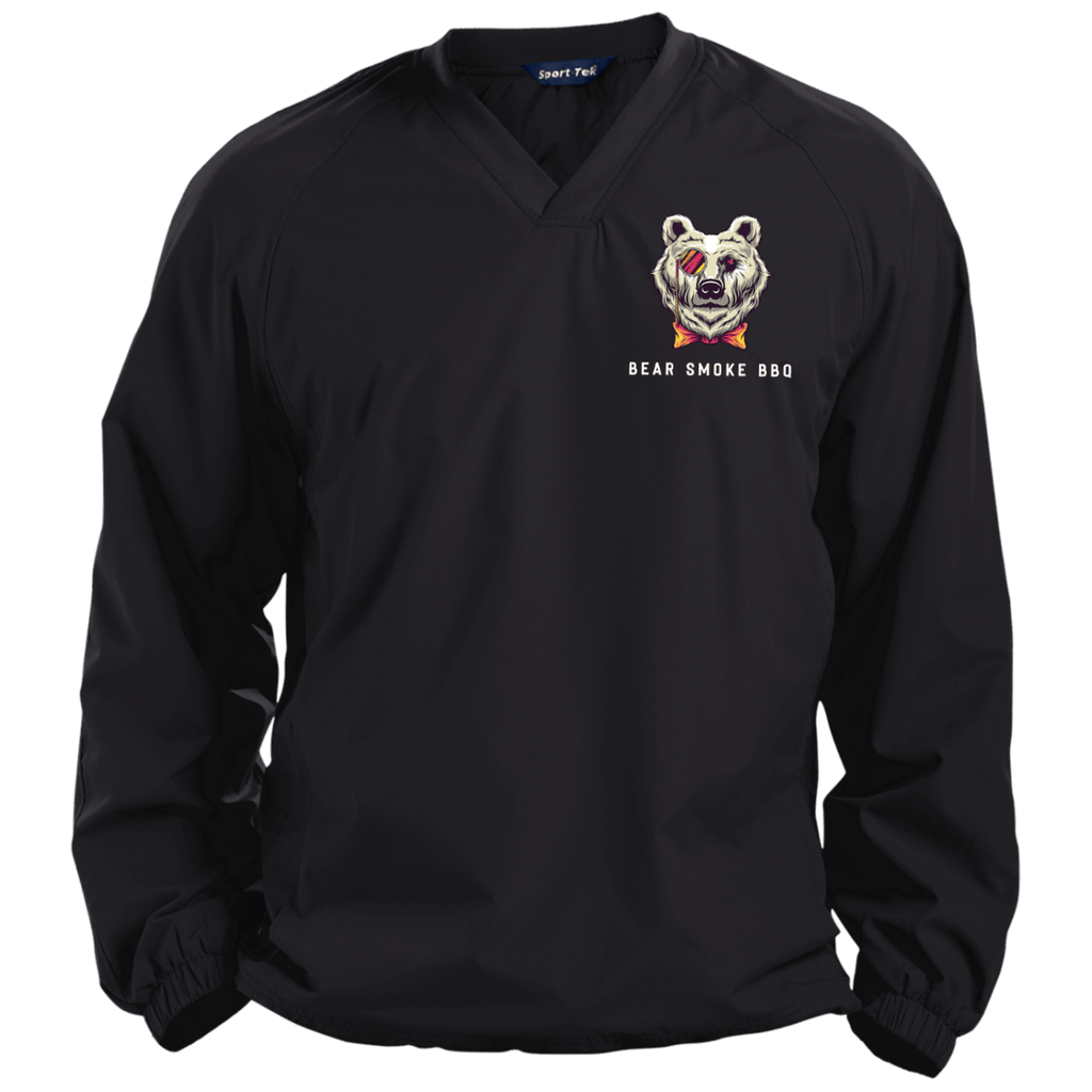 JST72 Pullover V-Neck Windshirt - Bear Smoke BBQ