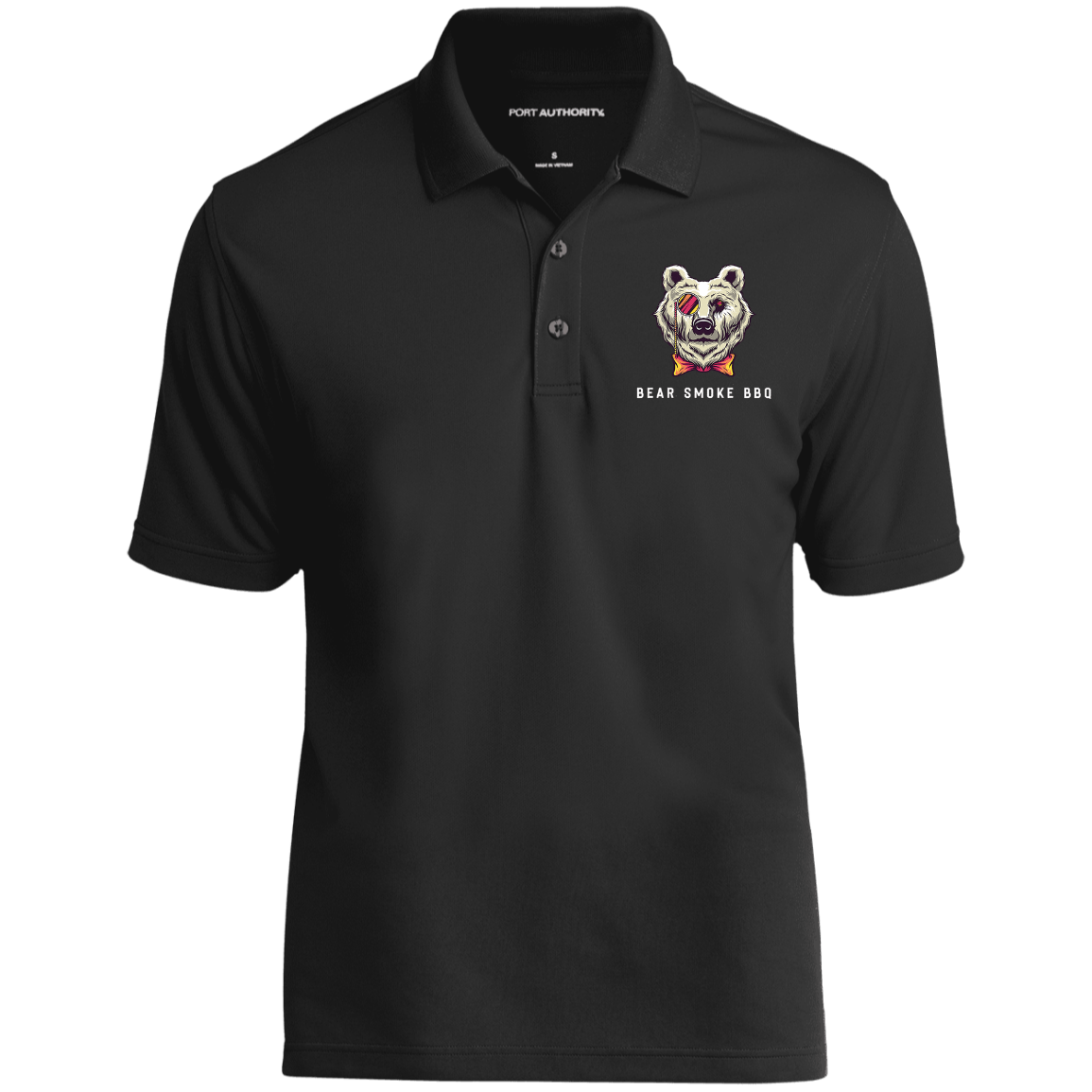 K110 Dry Zone UV Micro-Mesh Polo - Bear Smoke BBQ