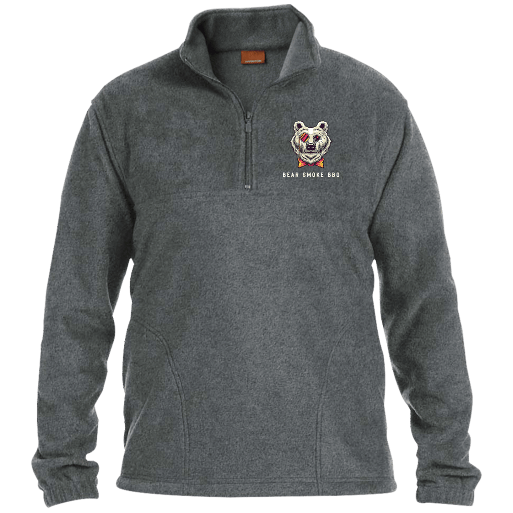 M980 1/4 Zip Fleece Pullover - Bear Smoke BBQ