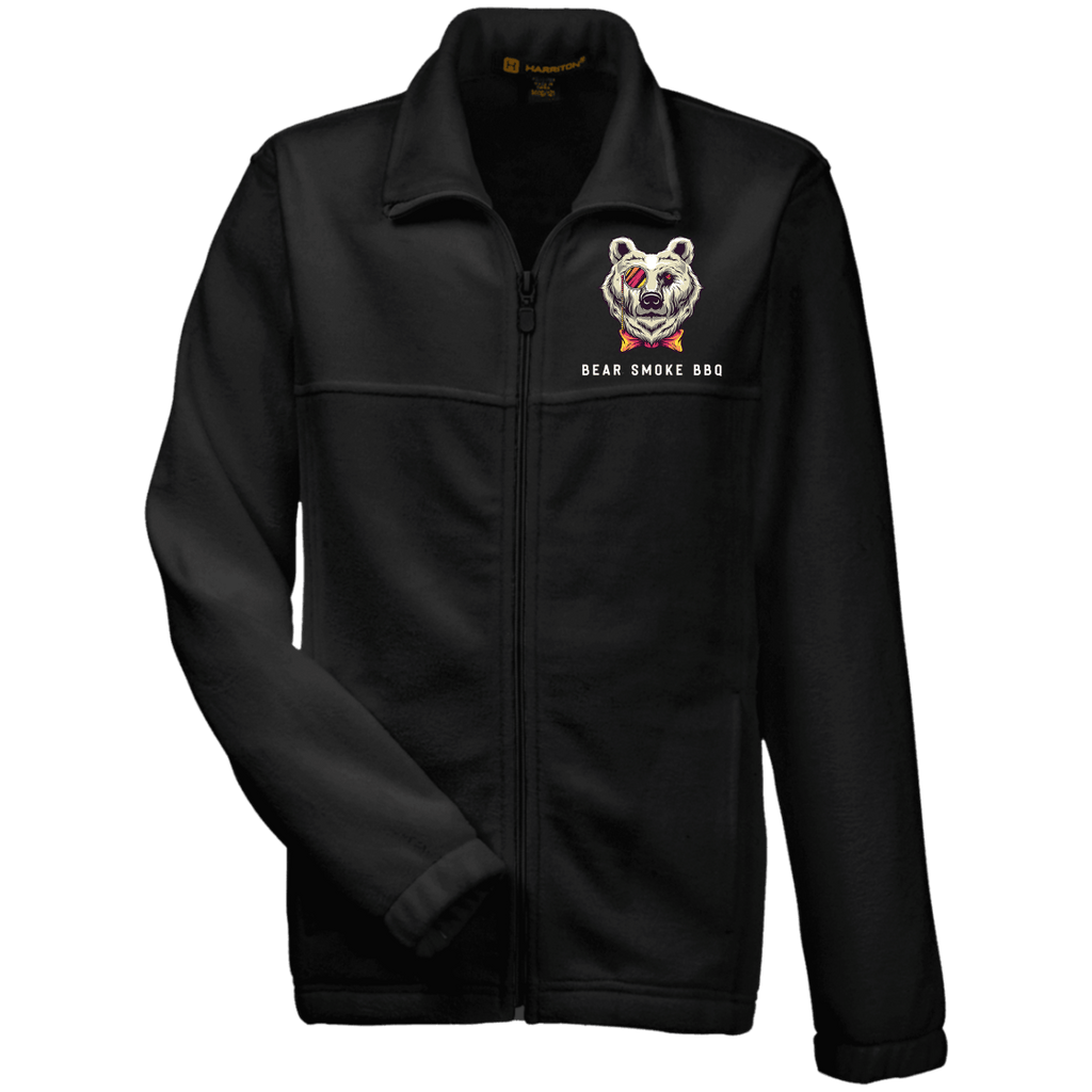 M990Y Youth Fleece Full Zip - Bear Smoke BBQ