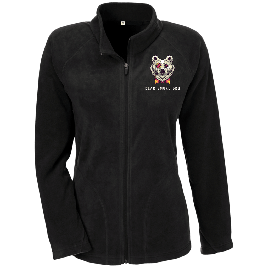 TT90W Ladies' Microfleece - Bear Smoke BBQ