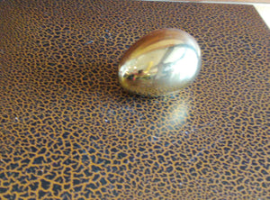 Gold Egg (8cm Height) - Green Gardens Mihiliya (Pvt) Ltd