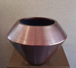 18cm Glazed Ceramic Pot (M) - Green Gardens Mihiliya (Pvt) Ltd