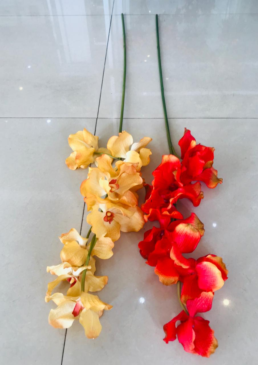 105cm Real Touch Cattleya Orchid - Green Gardens Mihiliya (Pvt) Ltd