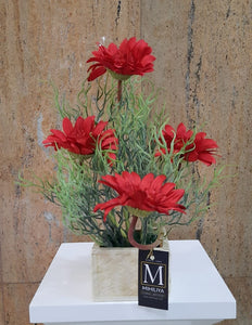 Artificial Flower Arrangement (h: 36cm) - Green Gardens Mihiliya (Pvt) Ltd