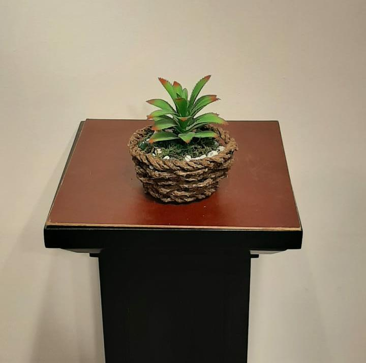 Artificial Greenery Arrangement (h:14cm w:11cm) - Green Gardens Mihiliya (Pvt) Ltd