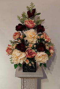 Artificial Flower Arrangement (h:70cm w:50cm) - Green Gardens Mihiliya (Pvt) Ltd