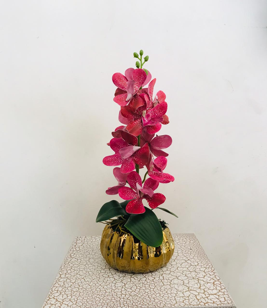 Artificial Flower Arrangement (h:39cm w:15cm) - Green Gardens Mihiliya (Pvt) Ltd
