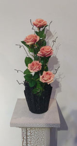 Artificial Floral Arrangement (h:54cm w:20cm) - Green Gardens Mihiliya (Pvt) Ltd