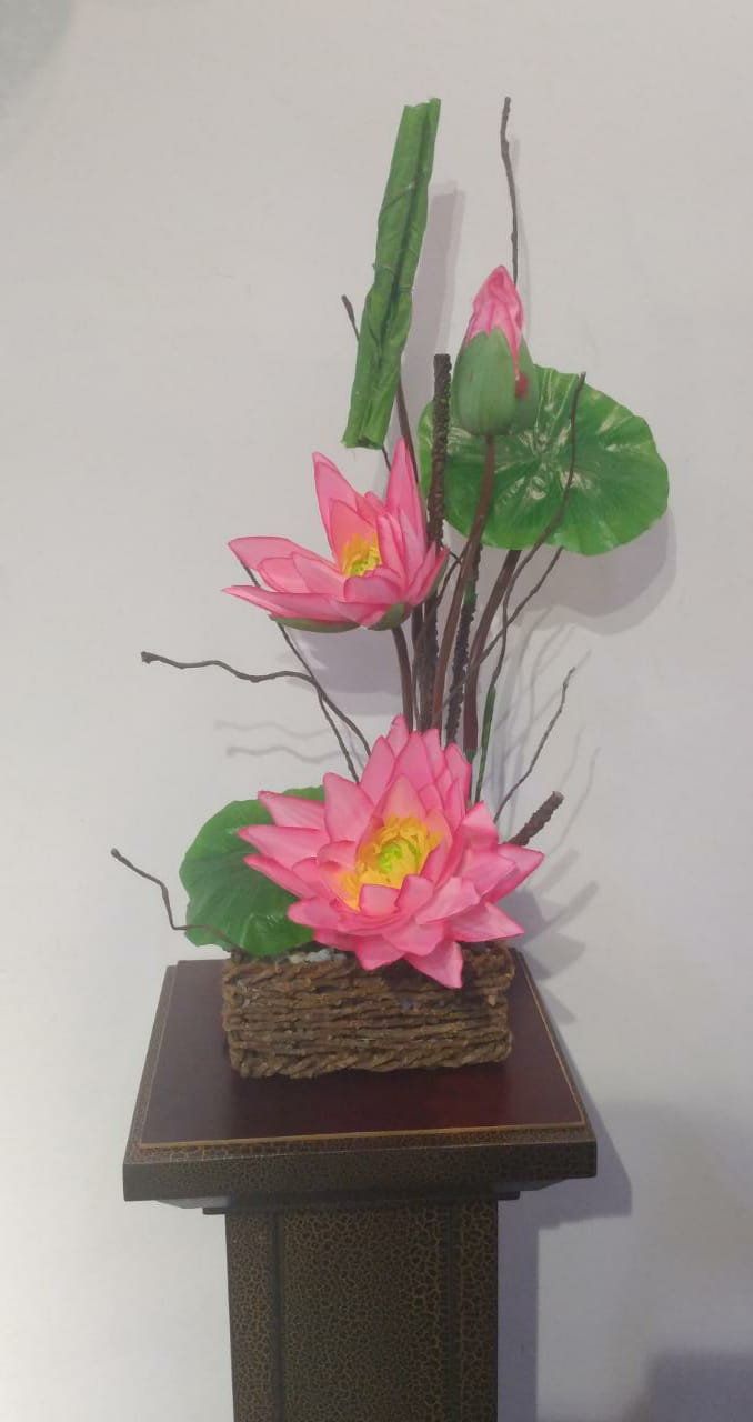 Artificial Flower Arrangement (h: 60cm ,w:30cm) - Green Gardens Mihiliya (Pvt) Ltd