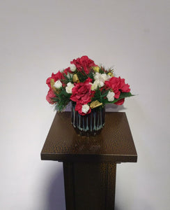 Artificial Flower Arrangement (h:22cm ,w:22cm)