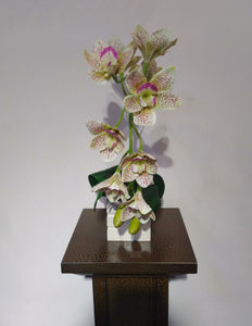 Artificial Flower Arrangement (h:43cm ,w:17cm)