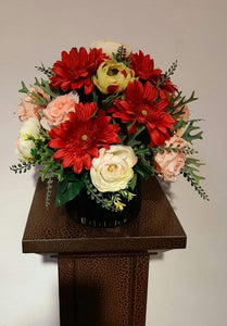 Artificial Floral Arrangement (h:38cm w:38cm)