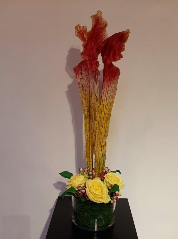 Artificial Floral Arrangement (h:62cm w:22cm)