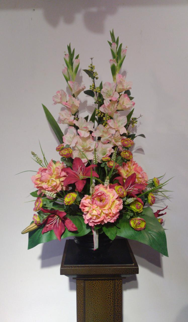 Artificial Floral Arrangement (h:83cm w:59cm)