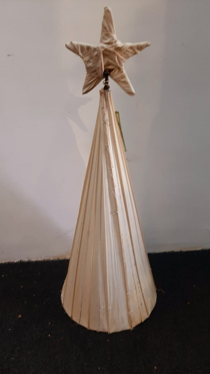Christmas Tree - Kithul White (h:60cm)