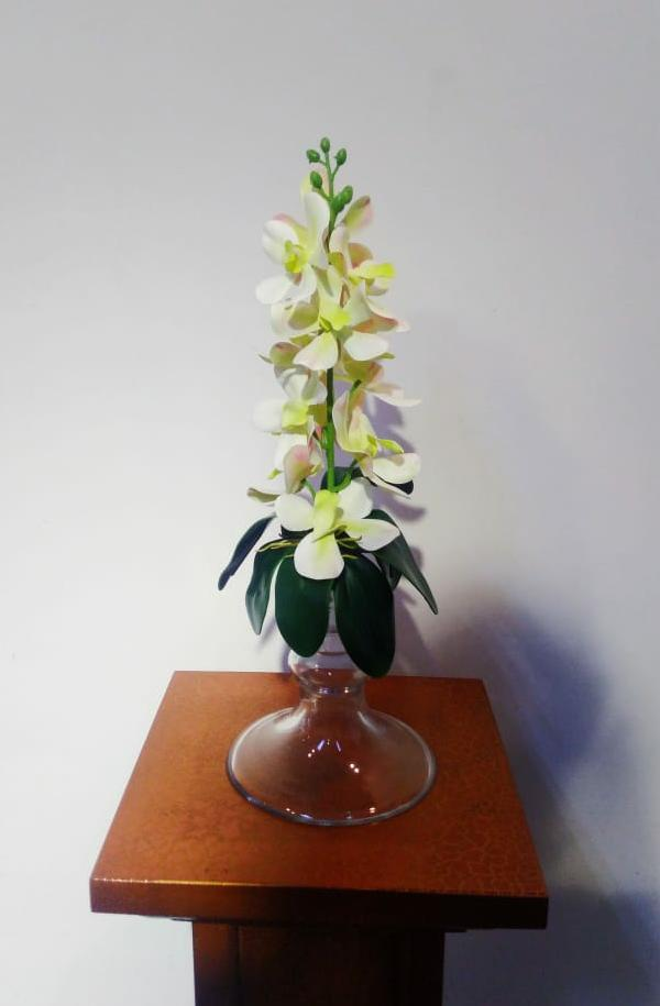 Artificial Floral Arrangement (h:45cm, w13cm)