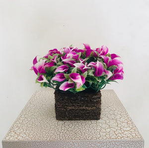 Artificial Floral Arrangement (h:28cm, w:18cm)