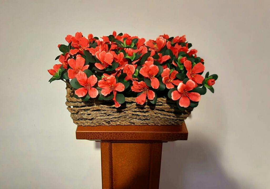 Artificial Floral Arrangement (h:25cm, w:40cm)