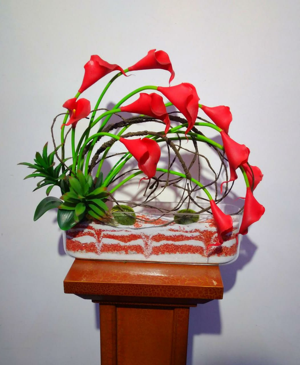 Artificial Floral Arrangement (h:38cm, w:45cm)