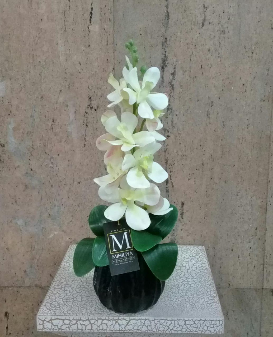 Artificial Floral Arrangement (h:40cm, w:12cm)