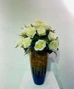 Artificial Floral Arrangement (h:53cm w:38cm)