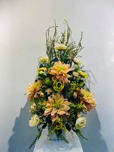 Artificial Floral Arrangement (h:92cm w:48cm)