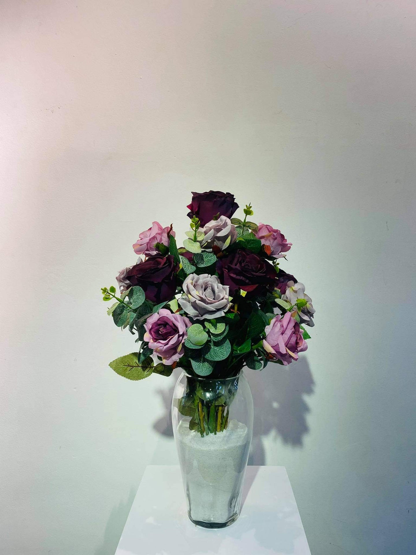 Artificial Floral Arrangement (h:51cm w:32cm)
