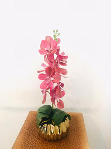 Artificial Floral Arrangement (h:39cm w:15cm)