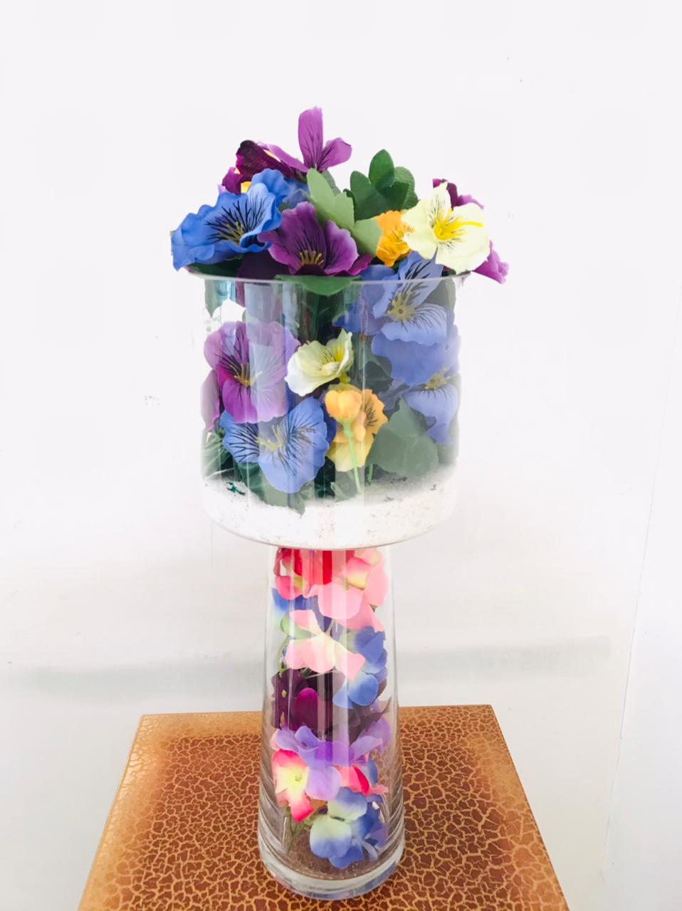 Artificial Floral Arrangement (h:43cm w:15cm)