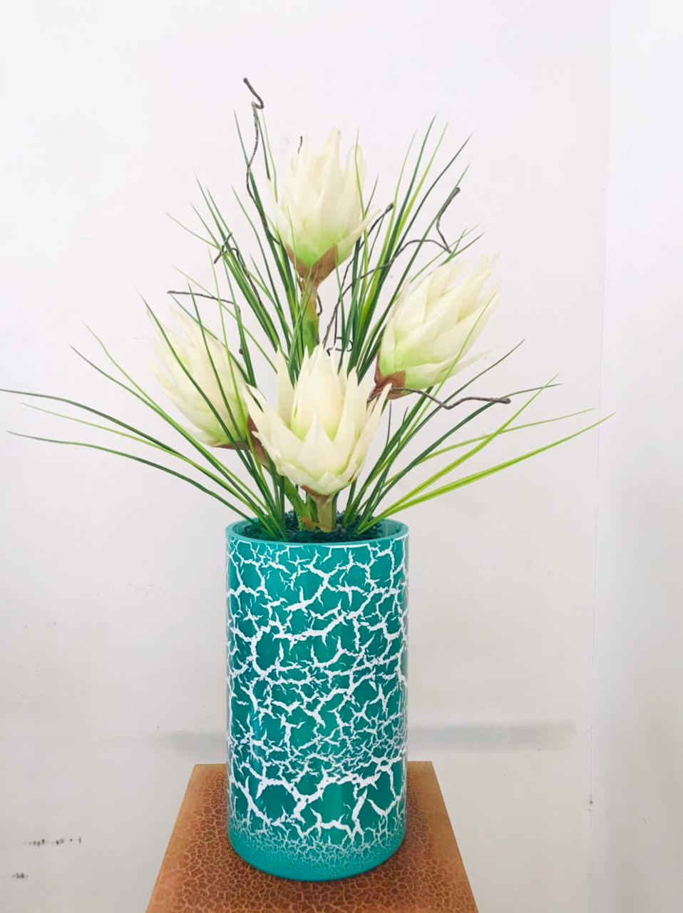 Artificial Floral Arrangement (h:72cm w:43cm)
