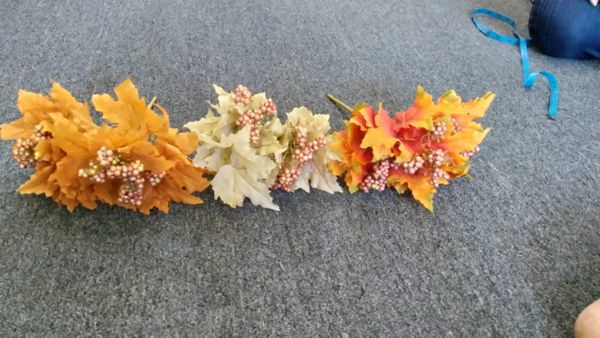 40cm Maple Leaf Bunch - Green Gardens Mihiliya (Pvt) Ltd