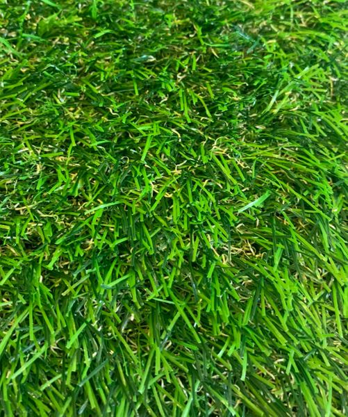 20mm Artificial Grass (Fire Retardant) - Green & Brown (SQM) - Green Gardens Mihiliya (Pvt) Ltd