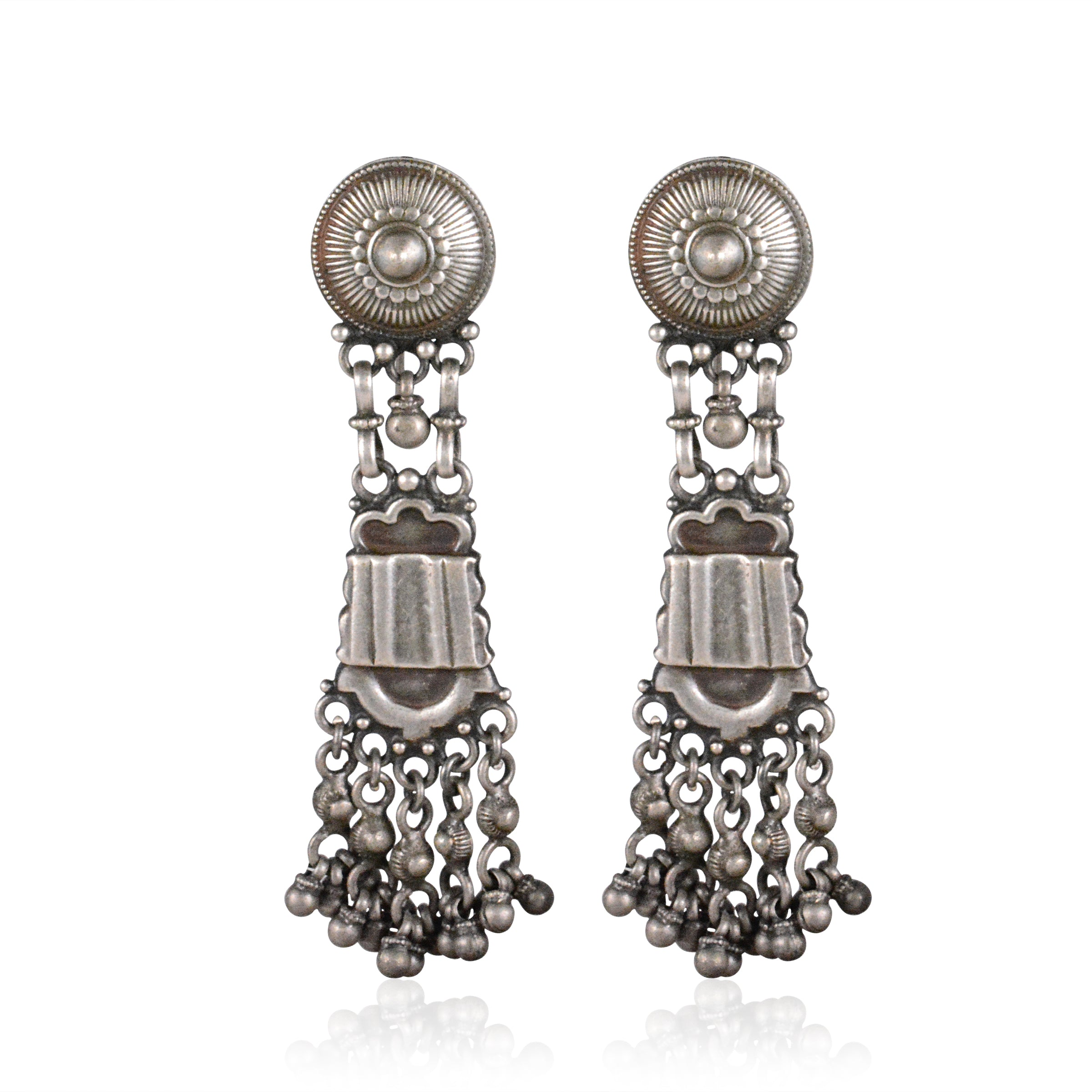 Bhairavi Long Tribal Earring
