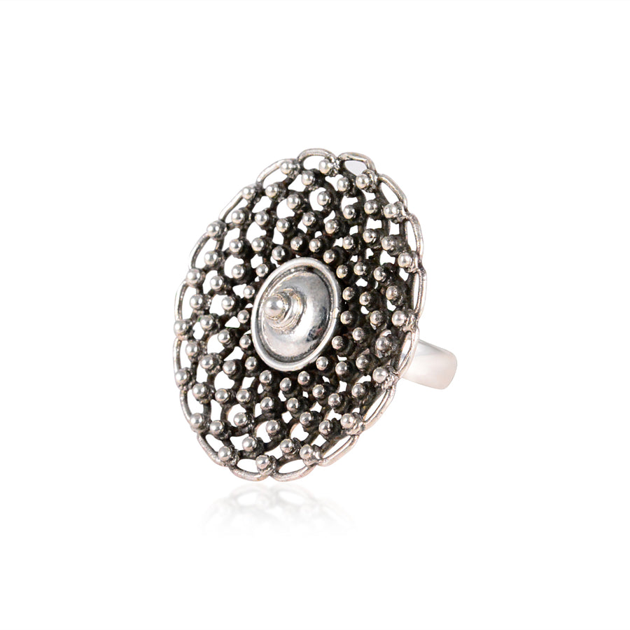 Jaal Tribal Ring