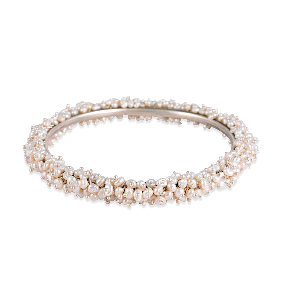 Devki Bangle with pearls
