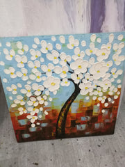 Tree hand painting oil art works & wall art | canvasgone