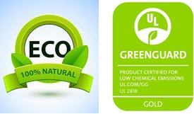 hedyart accord with greenguard and ecologo authentication