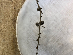 Fluted Hessian Bowl