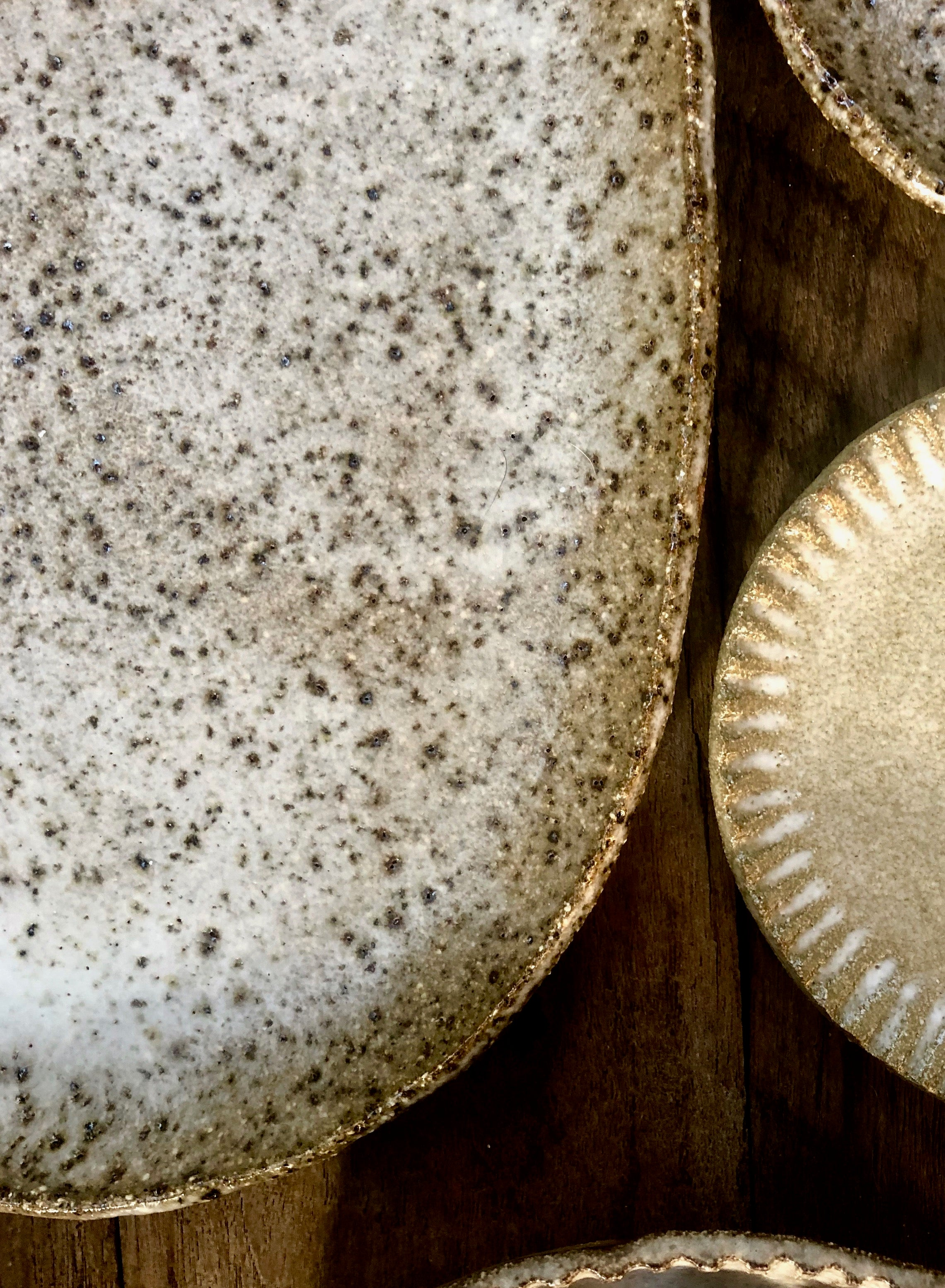 Speckled Earthy Oval Grazing Platter