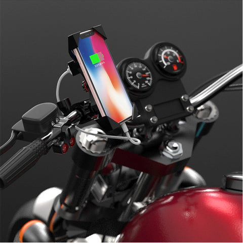 Motorcycle Phone Charger Holder