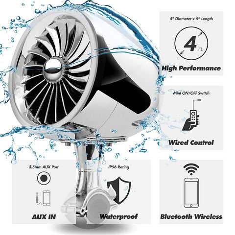 Bluetooth 300W Waterproof Speaker