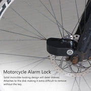 Motorcycle Alarm Disc Lock Security