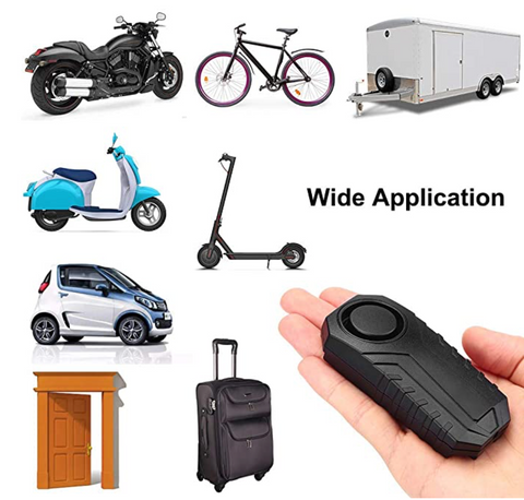2.0 Motorcycle Alarm Wireless Anit-Theft with Remote